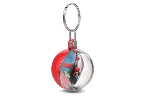 Adventa Mini Bauble Keyring - Red