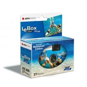 Agfa Photo Le Box Ocean Disposable Single Use Underwater Camera 27 exp.