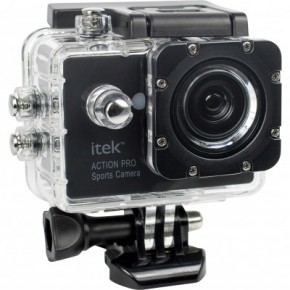 Itek Action Pro 1080p HD Sports Camera