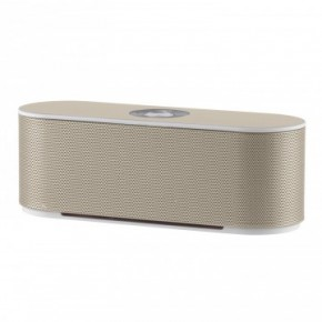 Akai Dynmx Dual Super Bass Portable Bluetooth Speaker - Champagne