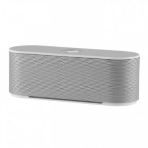 Akai Dynmx Dual Super Bass Portable Bluetooth Speaker - Silver