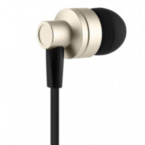 Akai Dynmx Noise Isolating Headphones - Gold