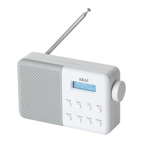 Akai Core Compact DAB Digital Radio - White