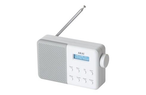 Akai Core Compact DAB Digital Radio - White