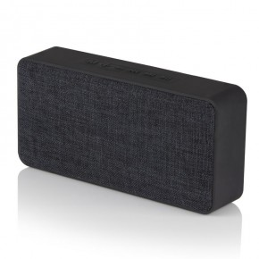 Akai 10w Fabric Bluetooth Speaker - Black