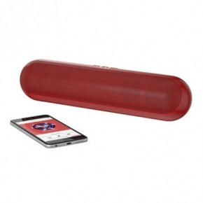 Akai XL Capsule Bluetooth Speaker - Red