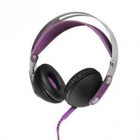 Akai Classic Over-Ear Headphones - Purple