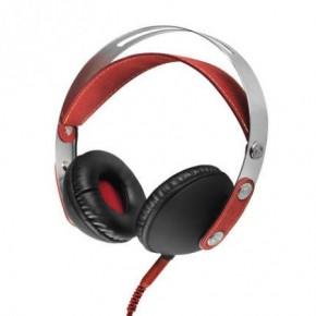 Akai Classic Over-Ear Headphones - Red