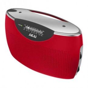 Akai Jumbo FM Radio - Red
