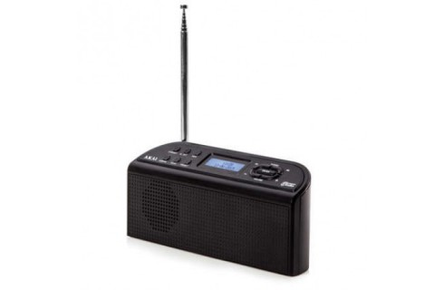 Akai Portable DAB Radio - Black