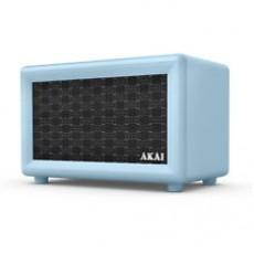 Akai Retro Rechargeable Retro Bluetooth Speaker - Blue