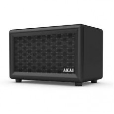 Akai Retro Rechargeable Retro Bluetooth Speaker - Black