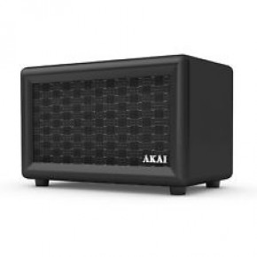 Akai Retro Rechargeable Retro Bluetooth Speaker - Black