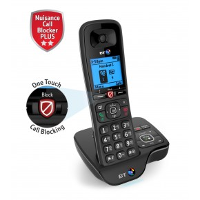 BT6600 Digital Cordless Phone with Answer Machine & Advanced Nuisance Call Blocker - Single