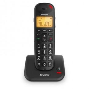 Binatone Big Button Speakeasy 3805 DECT Phone Single - Black