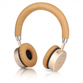 Bohm B66 Wireless Headphones with Active Noise Cancellation - Gold