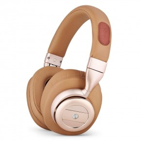 Bohm B76 Wireless Headphones with Active Noise Cancellation - Gold