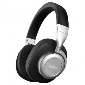 Bohm B76 Wireless Headphones with Active Noise Cancellation - Silver