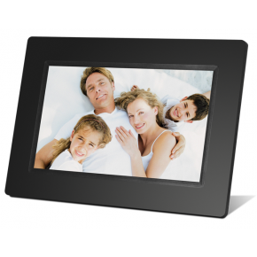 "Braun 7"" Digital Photo Frame 711 - Black"