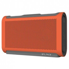 Braven Balance Portable Waterproof Bluetooth Speaker Orange/Grey