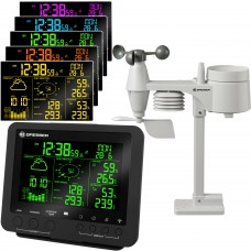 Bresser 5-in-1 Professional Weather Centre with 256 Colour Display -  Black