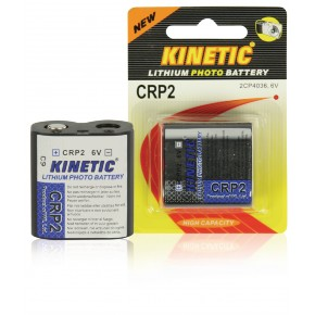 Kinetic CRP2 Lithium Photo Battery 6V 1-Pack