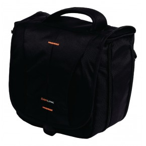 Camlink CL-CB24 Shoulder Bag - Black/Orange