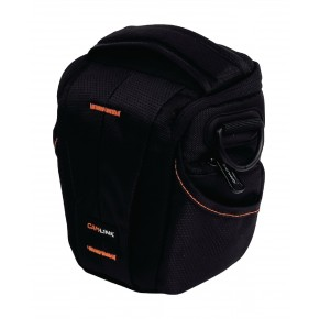 Camlink CL-CB30 Holster Bag - Black/Orange
