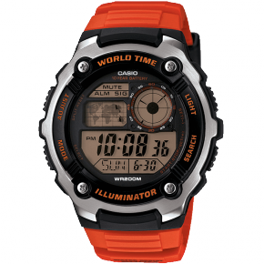 Casio AE-2100W-4AVEF Watch - Orange/Black