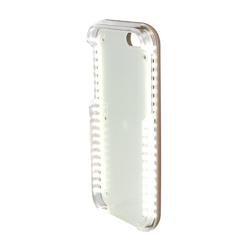 size 40 52e4a 9b1ad Casu iPhone 6/6s Plus Selfie Case with Built-in Lights - Rose Gold