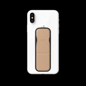 Clckr Universal Phone Grip & Stand Small - Metallic Rose Gold