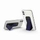 Clckr Universal Phone Grip & Stand Small - Perforated Navy Blue