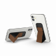 Clckr Universal Phone Grip & Stand Small - Perforated Brown