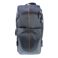 Dorr Yuma Double Sling Bag - Black and Orange