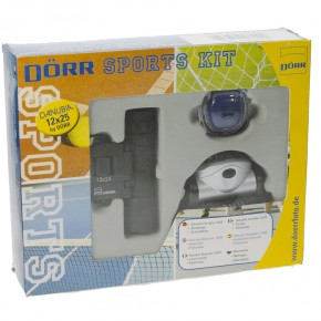 Dorr 12x25 Binocular Sports Kit - Black