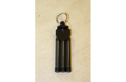 Dorr Mini Tripod Keyring - Black
