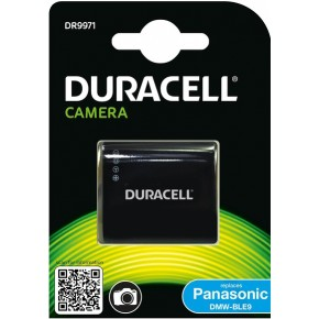 Duracell DR9971 DMW-BLE9, BLG10 Rechargeable Li-ion Battery - Panasonic