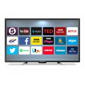 """Ferguson 50"""" Android Smart LED TV with Wi-Fi and Freeview T2 HD"""