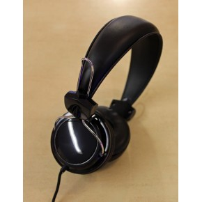 FoneMe Orbz Over-Ear Wired Headphones with mic - Black