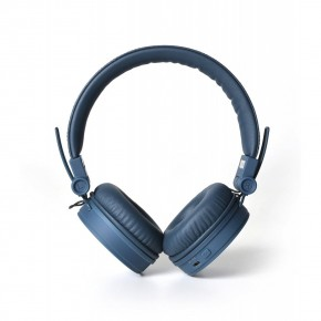 Fresh 'N Rebel Caps Bluetooth Over-Ear Headphones - Indigo Blue