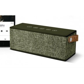 Fresh 'N Rebel Rockbox Brick Fabriq Bluetooth Speaker - Army
