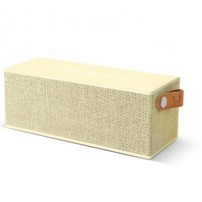 Fresh 'N Rebel Rockbox Brick Fabriq Bluetooth Speaker - Buttercup