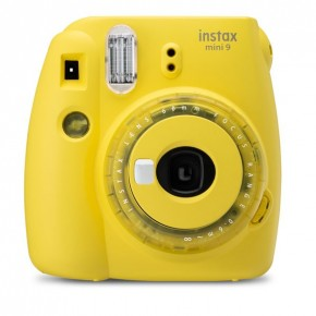 Fujifilm Instax Mini 9 Instant Camera - Clear Yellow