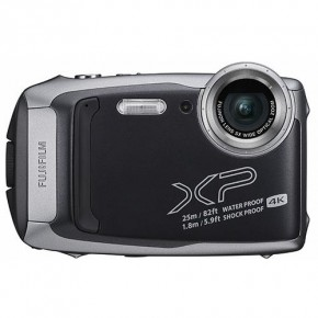 Fujifilm Finepix XP140 16.4MP Waterproof, Freezeproof, Shockproof, Dustproof Digital Compact Camera - Graphite/Black