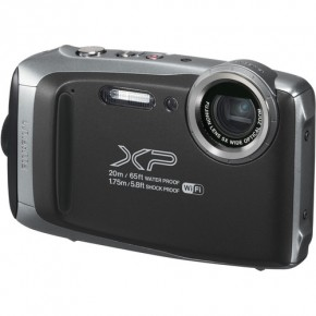 Fujifilm Finepix XP130 Waterproof Digital Camera - Graphite