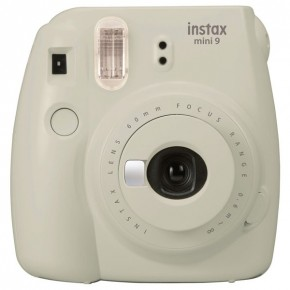 Fujifilm Instax Mini 9 Instant Camera - Smoky White