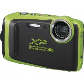 Fujifilm Finepix XP130 Waterproof Digital Camera - Green