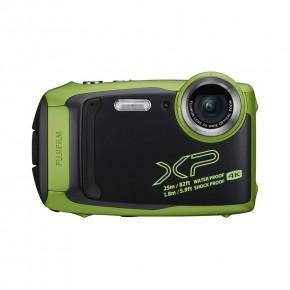 Fujifilm Finepix XP140 16.4MP Waterproof, Freezeproof, Shockproof, Dustproof Digital Compact Camera - Green/Black