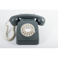 GPO 746 Classic Rotary Dial Home Telephone - Grey