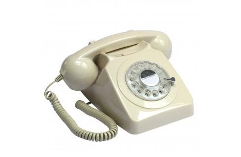 GPO 746 Classic Rotary Dial Home Telephone - Ivory